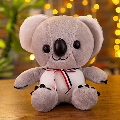 EoamIk Lindos Juguetes Blandos Juguetes de bebé de Peluche de Felpa de Koala Juguetes muñecas de niños (Gris, Largo 25cm)
