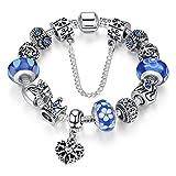 A-TE-Bracelet-Charms-Bleu-Femmes-Charme-de-la-Reine-Cadeau-JW-B110-BL