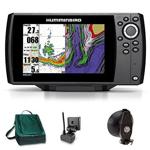 Humminbird Helix 7 Sonar GPS Echolot Seekartenplotter Combo Portabel Basic Plus