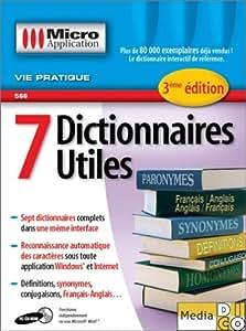 7 dictionnaires utiles, 3eme édition