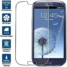 Protector de Pantalla para Samsung Galaxy S3 Cristal Vidrio Templado Premium, Electrónica Rey®