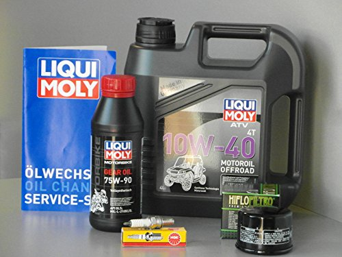 Maintenance–Set ATV/Quad Kymco MXU 5004x 4/2X 4, d'inspection–oelfilter, Bougie pas cher