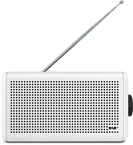 Nordmende Transita 210 - Tragbares DAB+ & UKW Digitalradio - Portable Musikbox mit Bluetooth Stereo Lautsprecher - Outdoor Radio mit Akku & Uhr