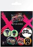 Suicide Squad GB Eye Ltd, Lil Monster, Button-Set