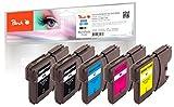 Peach Spar Pack Plus Tintenpatronen, XL-Füllung, kompatibel zu Brother LC-1100, LC-980