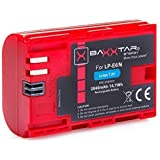 """Bundlestar BAXXTAR PRO ENERGY Batterie de qualité pour Canon LP-E6N (2040mAh) avec Info Chip - Système de batterie intelligent """"prochaine génération"""""""