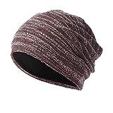 TUDUZ Klassische Jersey Slouch Long Beanie Mütze, leicht und weich für Damen und Herren