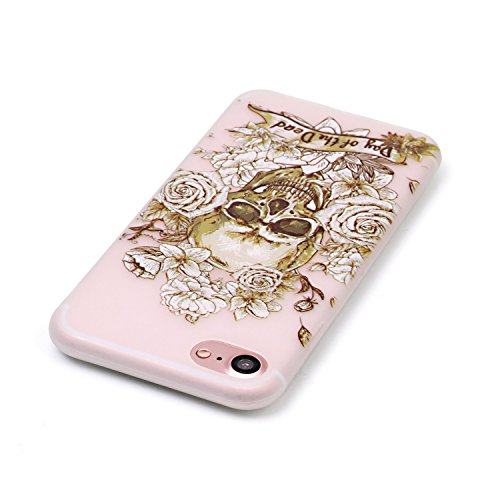 inShang iPhone 7 Plus Custodia 5.5 inch [Trasparente cover iPhone] [luminoso nel buio], comoda Cover posteriore di case di stile di protezione + inShang Logo pennino di alta classe 06