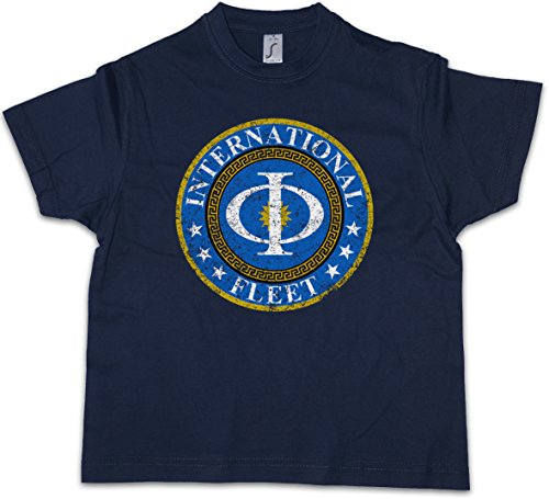 Urban Backwoods Vintage International Fleet Logo Kids T-Shirt Ender´s Orson Scott Card Game