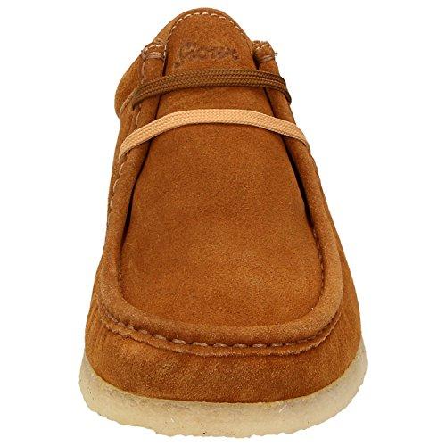 Sioux  31809, Chaussures de ville à lacets pour homme marron marron Marron