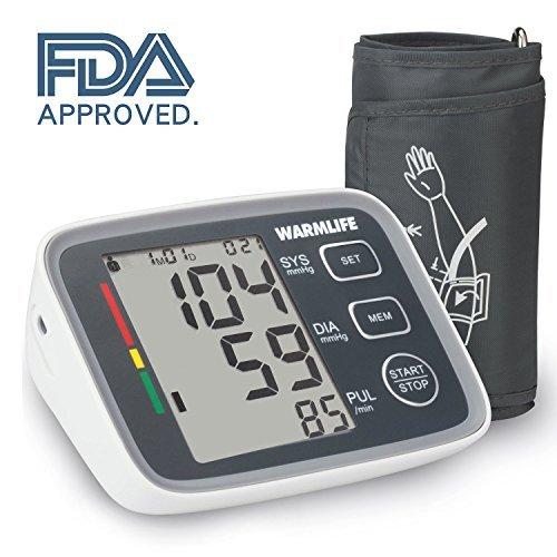 Electronic Blood Pressure Cuff >> 19 Off On Warmlife Automatic Digital Upper Arm Blood Pressure