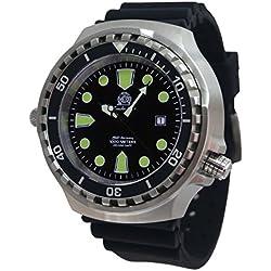 Super big size 52mm diver watch -automatic movt. sapphire glass helium velve T0256