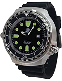 Super big size 52mm diver watch -automatic movt. sapphire glass helium velve T0256