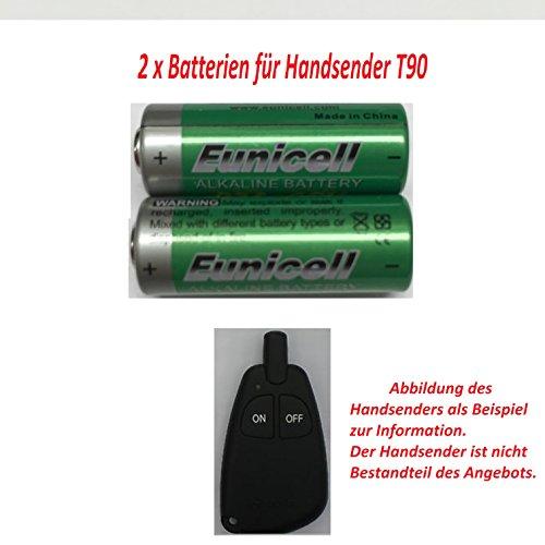 2 Batterien für WEBASTO T90 Standheizung Handsender Fernbedienung 2 x 12V für BMW Mercedes VW Skoda Audi EUNICELL