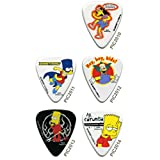 Grover Allman The Simpsons Guitar Picks 5-Pack#2