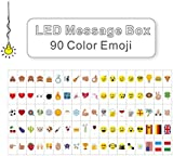 90 Pastel Colour Emojis and Special Decorative Symbols for Use with A4 LED Message Box