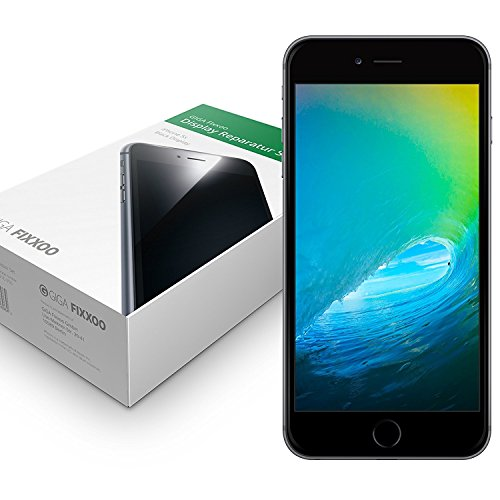 #GIGA Fixxoo iPhone 6 Plus Display schwarz im Komplettset#