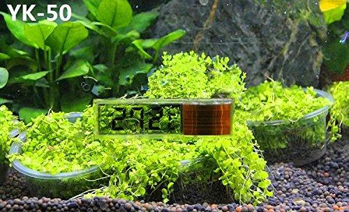 RICISUNG 1pcs Digital LCD Fish Aquarium Marine Vivarium Thermometer -50¡ãC to 70 ¡ãC 2