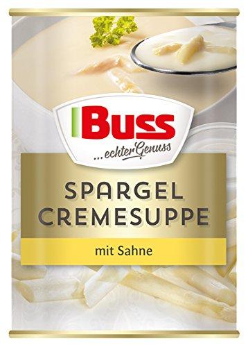 Buss Spargel-Cremesuppe mit Sahne, 12er Pack (12 x 400 g)