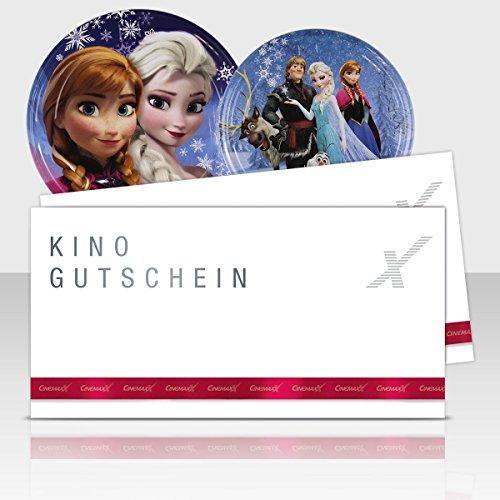 Cinemaxx Die Eiskönigin Filmdose Blau Double mit 2 Kinogutscheinen