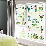 45 * 60 cm Befleckt Statisch Haftenden Fenster Film Matt Opak Privatsphäre Glas Aufkleber Wohnkultur Digitaldruck Garten