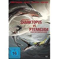 Sharktopus Vs Pteracuda-Kampf Der Urzeitgiganten (FSK 16 Jahre) DVD
