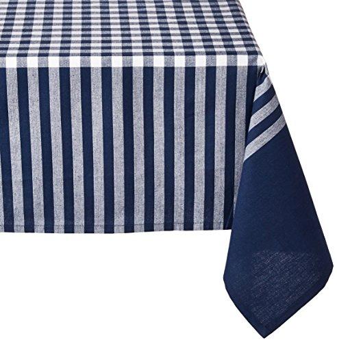 Ladelle 4226159x 90-1/5,1cm Gingham Blau Tischdecke, klein -