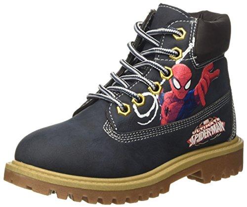 Spiderman Jungen Polacchini Desert Boots, Blu (Navy), 31 EU