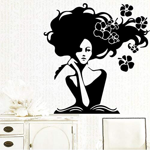 Lustige belle wandaufkleber personalisierte kreative für kinderzimmer wohnzimmer wohnkultur wandkunst aufkleber wandbilder 58x60 cm