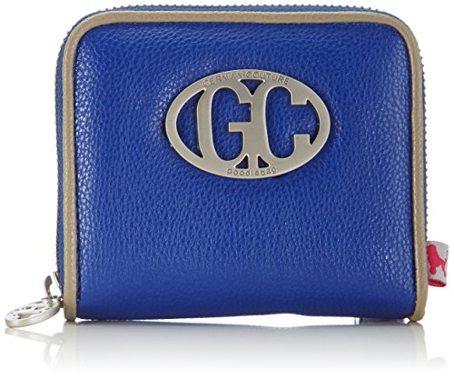Poodlebag German Couture-Cash 3GC0115CASSBS Unisex-Erwachsene Münzbörsen 12x3x10 cm (B x H x T) Blau (blue/stone)