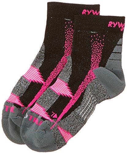 Rywan Atmo-trail Climasocks - Calzini da donna, colore fucsia, rosa (viola), FR : chaussettes : 35-38 (Taille Fabricant : 35/37)