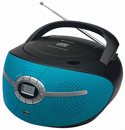 Soundmaster SCD3000PT - CD/MP3 Boombox mit USB und UKW/MW Radio