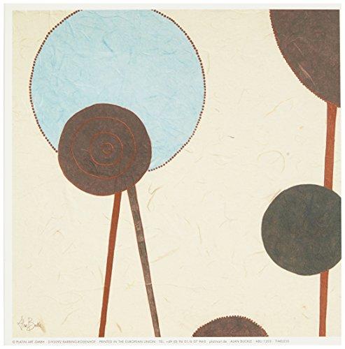 Eurographics ABU1203 Hochwertiger Kunstdruck, Alan Buckle, Timeless 18 x 18 cm -