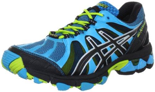Asics GEL-FUJISENSOR GTX T2B7N Damen Laufschuhe Blau (Blue/Black/Lime 4290)