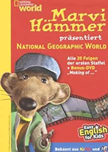 National Geographic - Marvi Hämmer präsentiert: National Geographic World, 1. Staffel [4 DVDs]