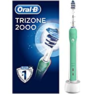 Oral-B Trizone 2000 Electric Rechargeable Toothbrush Powered by Braun