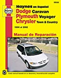 Plymouth Voyager y Chrysler Town & Country Haynes Manual de Reparacion Por 1996 Al 2002: No Incluye Informacion Especifica Para Los Modelos Con Tracci (Hayne's Automotive Repair Manual)