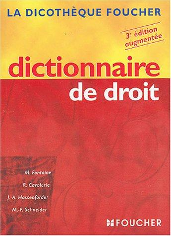 Dictionnaire de droit