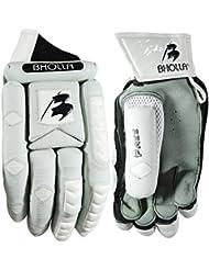 Tamaño de la guantes de bateador de críquet, para diestros, hombre, ligero, cómodo, prueba nivel protección
