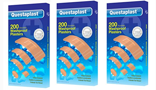 200-washproof-plasters-assorted-water-resistant-flexible-first-aid-band-aid