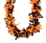 Touch of Nature Black and Orange Chandelle Boa 25Gram