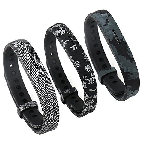 Fatetec Fitbit Flex 2 Bracelet de Remplacement, Classique Fermoir en