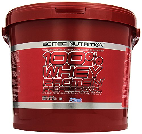 Scitec Nutrition Protein 100% Whey Protein Professional, Vanille, 5000g -
