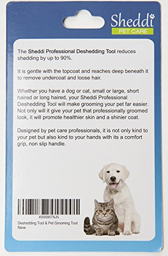SHEDDI - DE-SHEDDING AND GROOMING all-in-one tool. This invaluable little tool helps keep your cherished animals well… 4