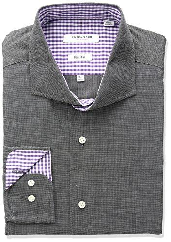 isaac-mizrahi-mens-slim-fit-end-on-end-cut-away-collar-dress-shirt-black-155-neck-32-33-sleeve