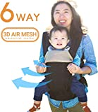All Seasons 360 Ergonomic Baby Carrier - 6 Position, Easy Breastfeeding, No Infant