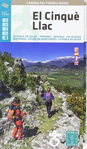 El Cinquè Llac 1:25.000 mapa excursionista. Editorial Alpina.