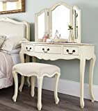 Juliette Shabby Chic Champagne Dressing Table