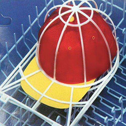 l Cap Waschrahmen Käfig, Hut Geschirrspüler Halter, Ball Cap Sport Hut Visiere Shaper Form Organizer für Waschmaschine ()