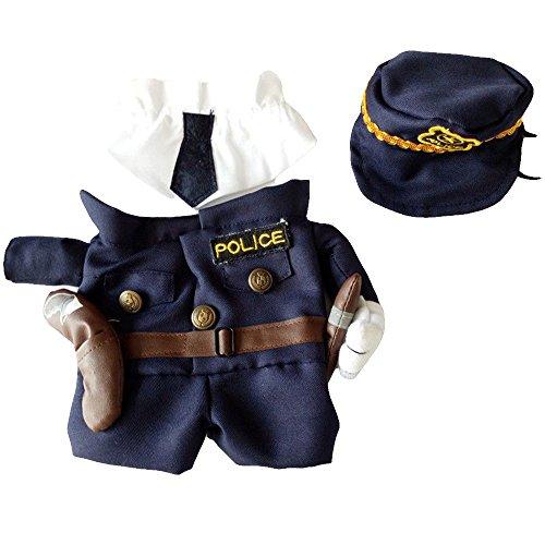 Maxgoods costume da compagnia, divertente vestito sveglio dei vestiti del gatto,cane e animale domestico per festa di natale o halloween uniforme da completo per vestire i jeans.size xl